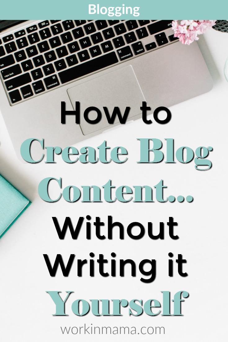 create-blog-content