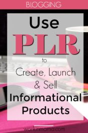 Use PLR to Created, Launch and Sell Your Own Information Product