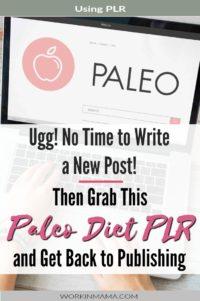 Paleo Diet PLR