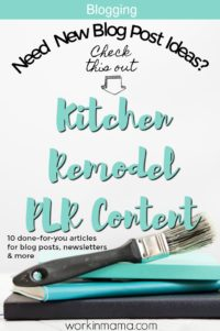 Small Kitchen Remodel PLR Pack