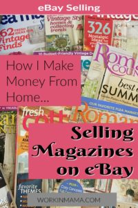 How I Make Money at Home Selling Magazines on eBay