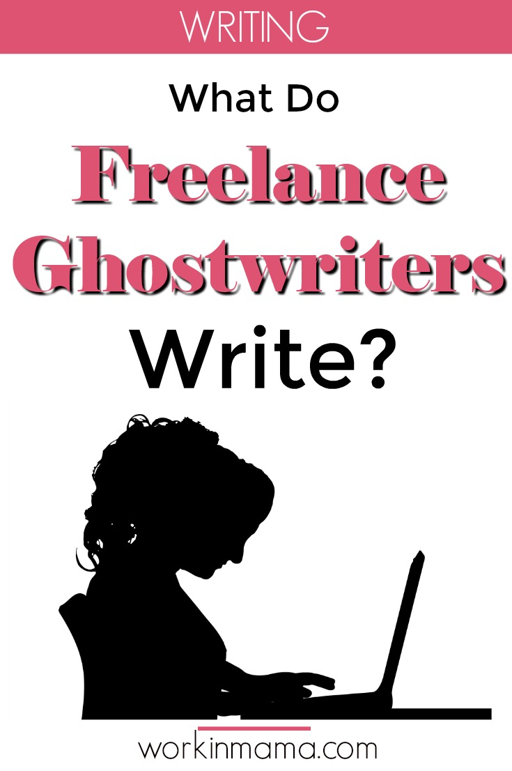 What Do Freelance Ghostwriters Write